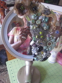 Sparkly Makeup Mirror