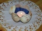 Seashell Tealight Holders