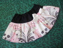 Skull Baby Skirt
