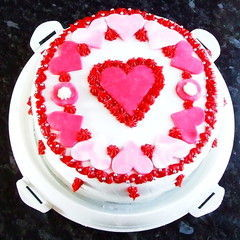 Red Velvet Three Layer Cake