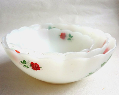 How to make a paper bowl. Vintage Paper Bowl - Step 1