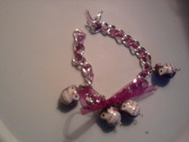 Bracelet With Ribbon Bow