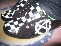 Checkered Shoes ^ ^