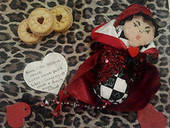 Queen Of Hearts Dotee Doll