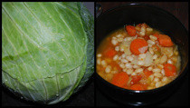 White Bean And Cabbage Stew *Vegan*