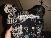 Juggalette Pillow From Old Shirt
