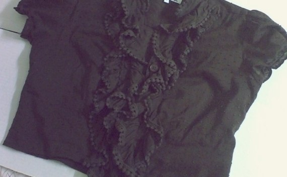 Ruffled Top Shrug
