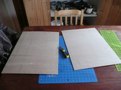 How to make a picture board. Photo Board - Step 2