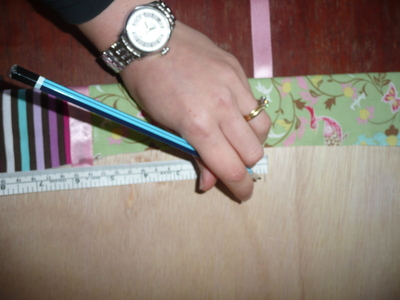 How to make a picture board. Photo Board - Step 18