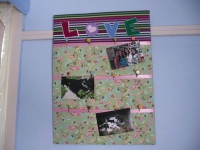 How to make a picture board. Photo Board - Step 21