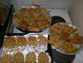 Ninjabread Men And Gingerbread Pacmen