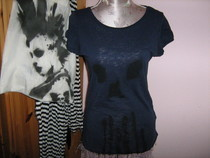 Easy Stencil Skull Tee