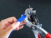 How to make a leather cuff. Belt Bracelets - Step 5