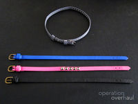 How to make a leather cuff. Belt Bracelets - Step 6