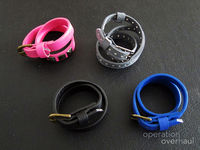 How to make a leather cuff. Belt Bracelets - Step 7