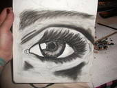 My Realistic Eye Work.