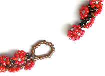 "Garland Rope ""Bauble 'N' Loop"" Beaded Clasp Option"