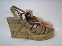 Revamp Your Old Shoes   Chiffon Flower Embellishment