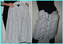 Mens Shirt To Cute Skirt 