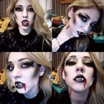 Vampire Makeup