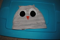 Diy Owl Hat/Beanie