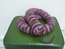Knitted Door Snakey