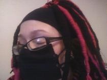 No Sew Cyber Goth Mask