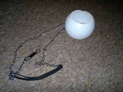 How to make a novetly bag. Pokeball Bag / Halloween Candy Tub - Step 3