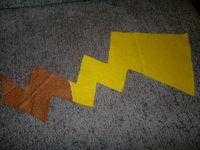 How to make a hoodie. Pikachu Hoody - Step 10