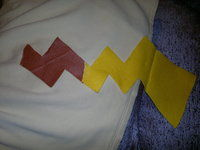 How to make a hoodie. Pikachu Hoody - Step 14