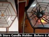 Revamped Spider Web Tealight
