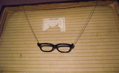 Geek Glasses Necklace