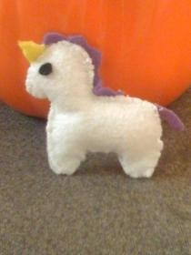 How To Make A 2 D Unicorn Plushie
