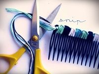 How to make a hair comb. How To Make A Hairclip Not Boring - Step 16