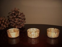 Modge Podge Tealight Holders!