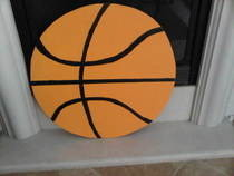 Basketball Yardsstake