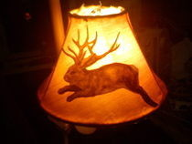 Lampshade With Jackalope