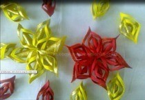3 D Snowflakes