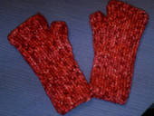 Quick Fingerless Mitts