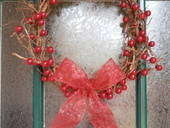 Vine &amp; Berry Christmas Wreath