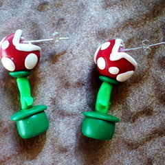 Piranha Plant Aerrings