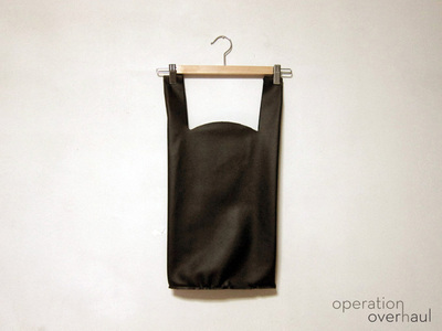 How to sew a leather tote. Black Leather Shopping Tote - Step 10
