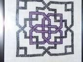 The I Don't Know Why Knot? Cross Stitch
