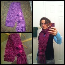 How To Crochet A Scarf