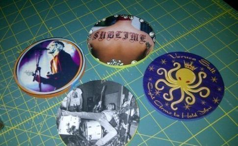 Coasters From Album Art