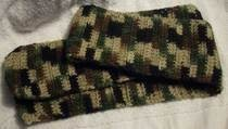 Camo Short Scarf For Soldiers/Hunters