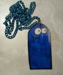 Bloo (Foster's Home For Imaginary Friends) Necklace