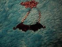 Jointed Bat Necklace