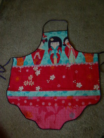 Geisha Girl Apron