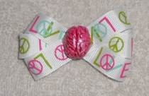 Peace &amp; Love Brain Bow